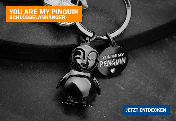 Schlüsselanhänger Pinguin – You're My Penguin