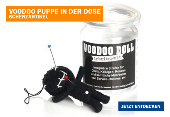 Voodoo Doll In Dose