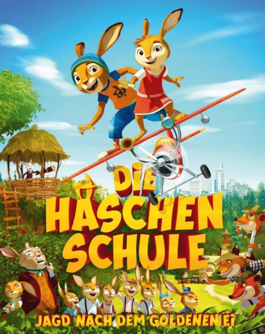 Filmtipp zu Ostern - Die Häschenschule - Jagd nach dem goldenen Ei