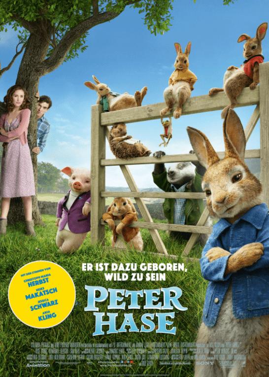 Filmtipp zu Ostern - Peter Hase - er ist dazu geboren wild zu sein