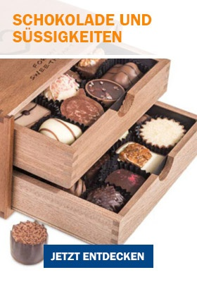 Schokolade als Geschenkidee