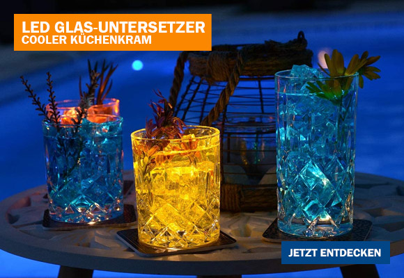 LED-Untersetzer – You Are The Gin To My Tonic als Geschenk
