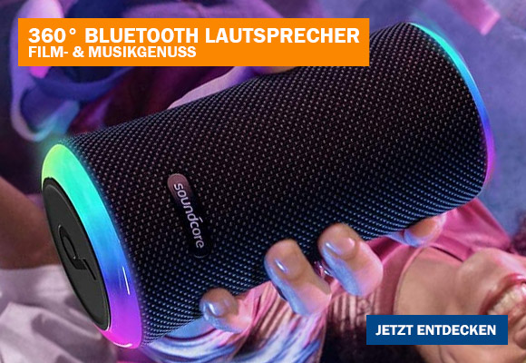 Bluetooth Lautsprecher von Anker als Geschenkidee