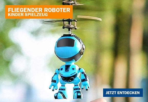 Fliegender Roboter als aufregendes Geschenk