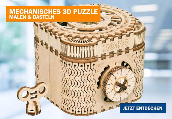 Mechanisches 3D Puzzle Aus Holz Zum Verschenken